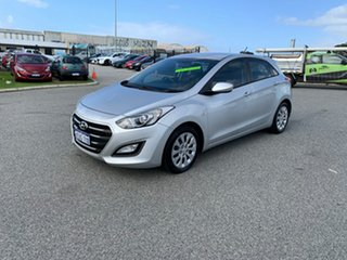 2015 Hyundai i30 GD3 Series 2 Active Silver 6 Speed Automatic Hatchback.