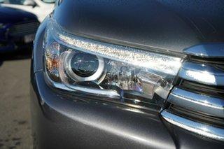 2016 Toyota Hilux GUN126R SR5 Double Cab Grey 6 Speed Manual Utility.