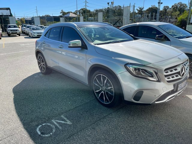 Used Mercedes-Benz GLA-Class X156 807MY GLA250 DCT 4MATIC Edgewater, 2017 Mercedes-Benz GLA-Class X156 807MY GLA250 DCT 4MATIC Silver 7 Speed