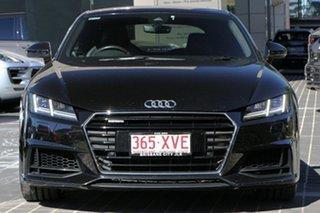 2015 Audi TT FV MY15 Sport S Tronic Quattro Black 6 Speed Sports Automatic Dual Clutch Coupe