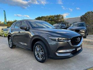 2017 Mazda CX-5 KF4W2A Maxx SKYACTIV-Drive i-ACTIV AWD Sport Grey 6 Speed Sports Automatic Wagon.