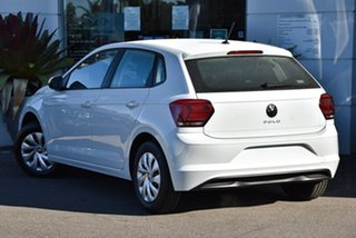 2021 Volkswagen Polo AW MY21 70TSI Trendline Pure White 5 Speed Manual Hatchback.
