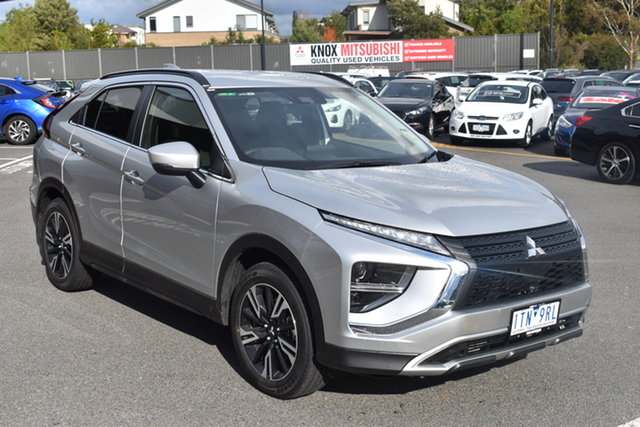 Demo Mitsubishi Eclipse Cross YB MY21 LS AWD Wantirna South, 2021 Mitsubishi Eclipse Cross YB MY21 LS AWD Sterling Silver 8 Speed Constant Variable Wagon