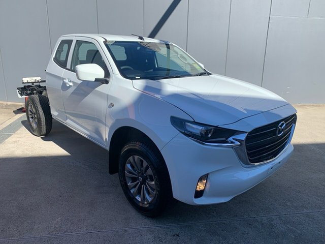 New Mazda BT-50 TFR40J XT Freestyle 4x2 Alexandria, 2021 Mazda BT-50 TFR40J XT Freestyle 4x2 Ice White 6 Speed Sports Automatic Cab Chassis