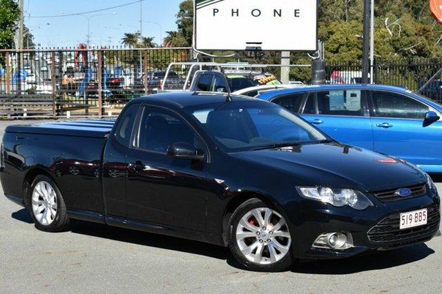 Used Ford Falcon FG MK2 XR6 Underwood, 2012 Ford Falcon FG MK2 XR6 Black 6 Speed Manual Utility