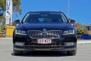 2016 Skoda Superb NP MY17 206TSI DSG Black 6 Speed Sports Automatic Dual Clutch Wagon.