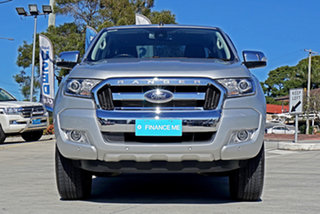 2018 Ford Ranger PX MkII 2018.00MY XLT Double Cab 4x2 Hi-Rider Ingot Silver 6 Speed Manual Utility.