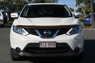2015 Nissan Qashqai J11 TS White 1 Speed Constant Variable Wagon