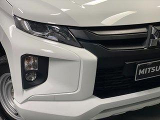 2020 Mitsubishi Triton MR MY21 GLX Double Cab 4x2 ADAS White 6 Speed Sports Automatic Utility.