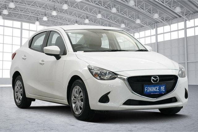 Used Mazda 2 DL2SAA Neo SKYACTIV-Drive Victoria Park, 2016 Mazda 2 DL2SAA Neo SKYACTIV-Drive White 6 Speed Sports Automatic Sedan