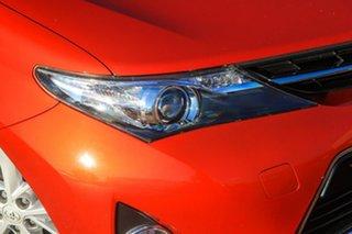 2013 Toyota Corolla ZRE182R Ascent Sport S-CVT Orange 7 Speed Constant Variable Hatchback
