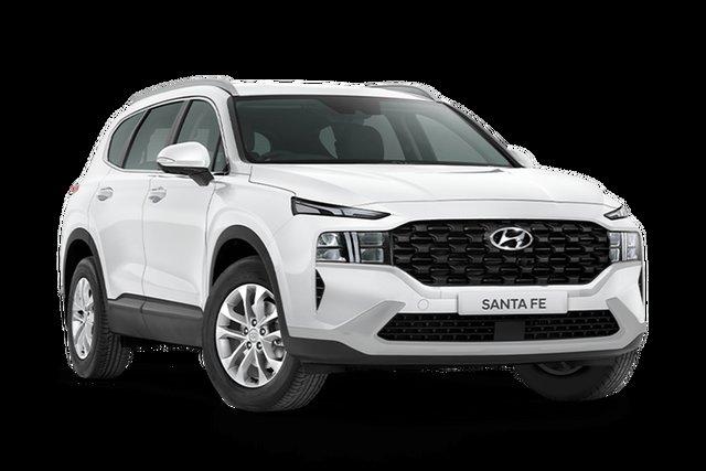 New Hyundai Santa Fe Tm.v3 MY21 DCT Hamilton, 2021 Hyundai Santa Fe Tm.v3 MY21 DCT White Cream 8 Speed Sports Automatic Dual Clutch Wagon