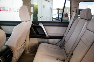 2010 Toyota Landcruiser Prado KDJ150R GXL Sandstone 5 Speed Sports Automatic Wagon