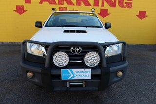 2014 Toyota Hilux KUN26R MY14 SR Xtra Cab White 5 Speed Manual Cab Chassis.