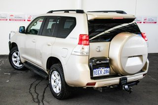 2010 Toyota Landcruiser Prado KDJ150R GXL Sandstone 5 Speed Sports Automatic Wagon.