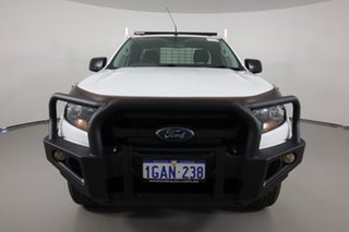 2016 Ford Ranger PX MkII MY17 XL 3.2 (4x4) White 6 Speed Manual Super Cab Chassis.