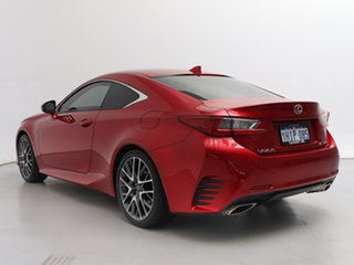 2018 Lexus RC350 GSC10R MY18 Facelift F Sport Red 8 Speed Automatic Coupe