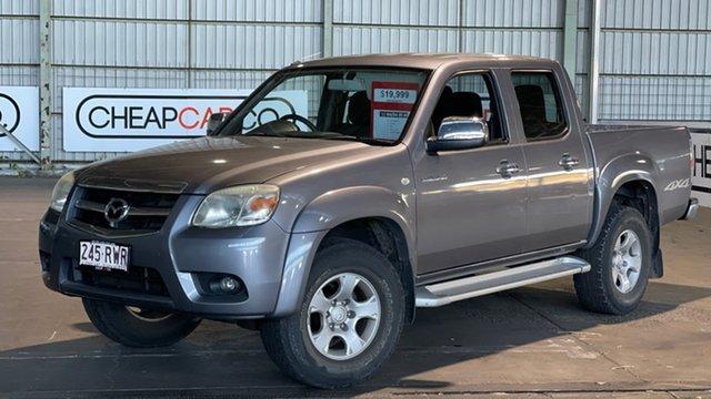 Used Mazda BT-50 UNY0E4 DX Rocklea, 2011 Mazda BT-50 UNY0E4 DX Grey 5 Speed Automatic Utility