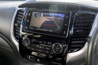 2017 Mitsubishi Triton MQ MY17 Exceed Double Cab Titanium Grey 5 Speed Sports Automatic Utility