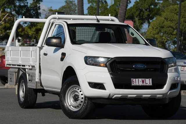 Used Ford Ranger PX MkII XL North Lakes, 2015 Ford Ranger PX MkII XL White 6 Speed Sports Automatic Cab Chassis