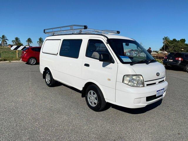 Used Kia Pregio CT Wangara, 2004 Kia Pregio CT White 5 Speed Manual Van