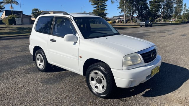 Used Suzuki Grand Vitara SQ420 Type1 JLX Port Macquarie, 2000 Suzuki Grand Vitara SQ420 Type1 JLX White 4 Speed Automatic Hardtop