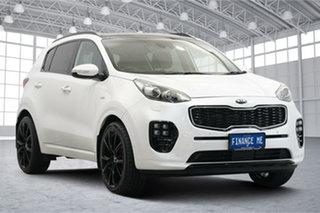 2016 Kia Sportage QL MY16 Platinum AWD White 6 Speed Sports Automatic Wagon.