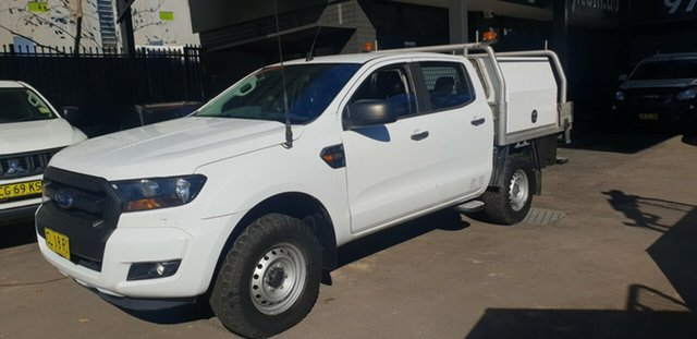 Used Ford Ranger PX MkII MY17 Update XL 3.2 (4x4) Bankstown, 2017 Ford Ranger PX MkII MY17 Update XL 3.2 (4x4) White 6 Speed Automatic Crew Cab Chassis