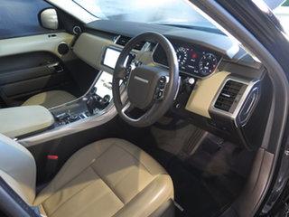 2019 Land Rover Range Rover Sport L494 MY20 SDV6 SE (183kW) Black 8 Speed Automatic Wagon