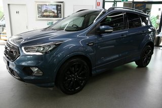 2018 Ford Escape ZG 2018.75MY ST-Line Blue 6 Speed Sports Automatic SUV