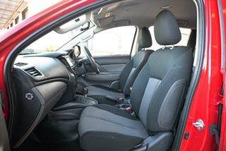 2017 Mitsubishi Triton MQ MY17 GLS Double Cab Red 5 Speed Sports Automatic Utility