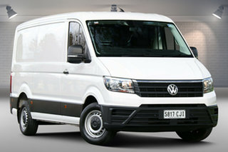 2019 Volkswagen Crafter SY1 MY19 35 MWB FWD TDI410 White 8 Speed Automatic Van.