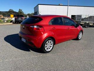 2014 Kia Rio UB MY14 S Cherry Red 6 Speed Manual Hatchback