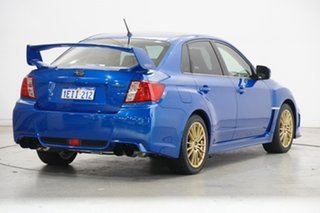 2013 Subaru Impreza G3 MY14 WRX AWD RS40 Blue 5 Speed Manual Sedan
