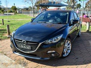 2015 Mazda 3 BM5438 SP25 SKYACTIV-Drive Black 6 Speed Sports Automatic Hatchback.