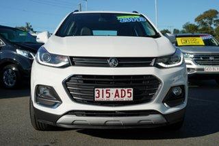 2019 Holden Trax TJ MY20 LTZ White 6 Speed Automatic Wagon.