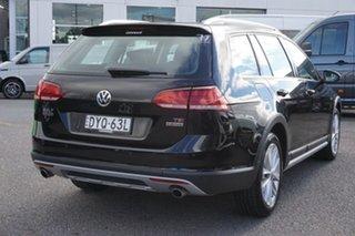 2018 Volkswagen Golf 7.5 MY18 Alltrack DSG 4MOTION 132TSI Black 6 Speed Sports Automatic Dual Clutch