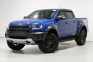2018 Ford Ranger PX MkIII MY19 Raptor 2.0 (4x4) Blue 10 Speed Automatic Double Cab Pick Up.