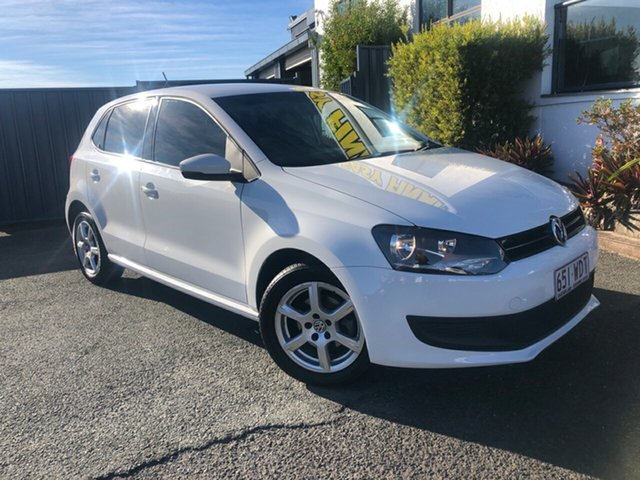 Used Volkswagen Polo 6R MY13.5 77TSI DSG Comfortline Slacks Creek, 2013 Volkswagen Polo 6R MY13.5 77TSI DSG Comfortline White 7 Speed Sports Automatic Dual Clutch