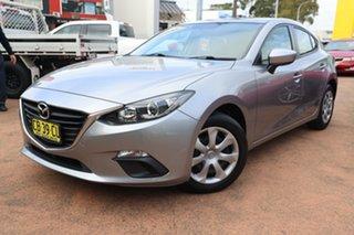 2014 Mazda 3 BM Neo Grey 6 Speed Automatic Hatchback.