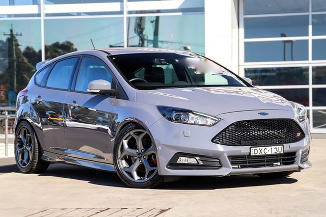 Used Ford Focus LZ ST Liverpool, 2017 Ford Focus LZ ST Stealth 6 Speed Manual Hatchback