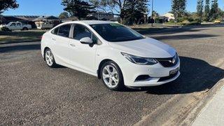 2017 Holden Astra BL MY17 LT White 6 Speed Sports Automatic Sedan.