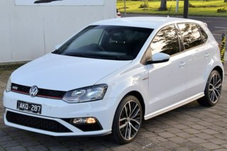 2016 Volkswagen Polo 6R MY16 GTI DSG White 7 Speed Sports Automatic Dual Clutch Hatchback