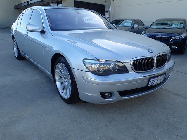 Used BMW 750Li E66 MY05 Upgrade Wangara, 2007 BMW 750Li E66 MY05 Upgrade Silver Metallic 6 Speed Auto Steptronic Sedan