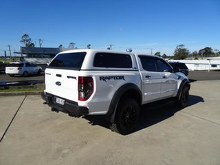 2019 Ford Ranger PX MkIII 2019.7 Raptor White 10 Speed Automatic Double Cab Pick Up