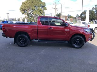2016 Toyota Hilux GUN126R SR Extra Cab Olympia Red 6 Speed Manual Utility.