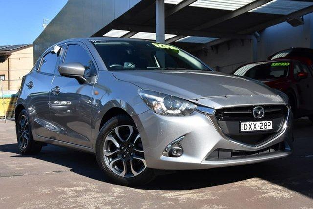 Used Mazda 2 DJ2HAA Genki SKYACTIV-Drive Waitara, 2018 Mazda 2 DJ2HAA Genki SKYACTIV-Drive Silver 6 Speed Sports Automatic Hatchback