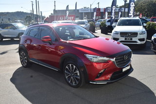 2019 Mazda CX-3 DK4WSA Akari SKYACTIV-Drive i-ACTIV AWD Red 6 Speed Sports Automatic Wagon.