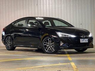 2019 Hyundai Elantra AD.2 MY19 Sport DCT Premium Black 7 Speed Sports Automatic Dual Clutch Sedan.