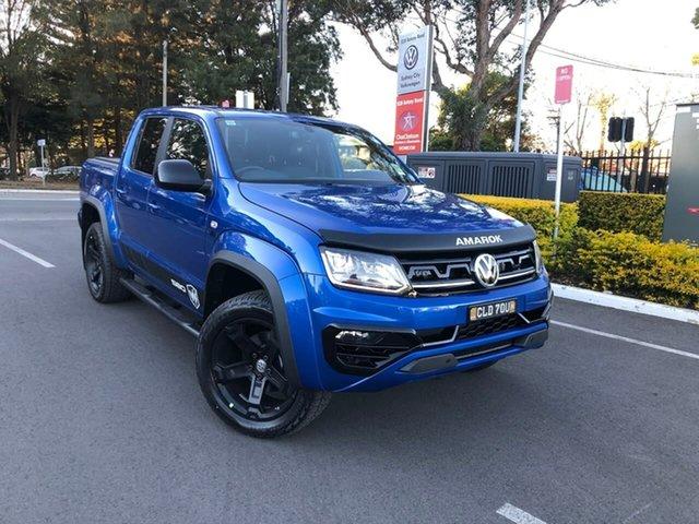 Demo Volkswagen Amarok 2H MY21 TDI580 4MOTION Perm W580 Botany, 2021 Volkswagen Amarok 2H MY21 TDI580 4MOTION Perm W580 Blue 8 Speed Automatic Utility